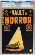 Golden Age (1938-1955):Horror, Vault of Horror #16 (EC, 1950) CGC FN- 5.5 Cream to off-whitepages....