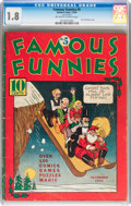 Platinum Age (1897-1937):Miscellaneous, Famous Funnies #5 (Eastern Color, 1934) CGC GD- 1.8 Off-white towhite pages....