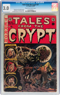 Golden Age (1938-1955):Horror, Tales From the Crypt #37 (EC, 1953) CGC GD/VG 3.0 Cream tooff-white pages....