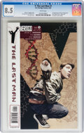 Y: The Last Man #1 (DC/Vertigo, 2002) CGC VF+ 8.5 White pages