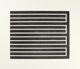 DONALD JUDD (American, 1928-1994) Untitled (two works), 1980 Aquatints in black 24-1/2 x 29-1/2 inches (62.2 x 74.9 c...