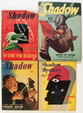 Pulps:Detective, Shadow Box Lot (Street & Smith, 1939-48) Condition: Average VG/FN.... (Total: 37 Items)