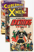 Golden Age (1938-1955):Miscellaneous, Golden and Silver Age Miscellaneous Comics Group (Various Publishers, 1950s-60s) Condition: Average GD.... (Total: 53 Comic Books)