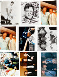 Baseball Collectibles:Photos, Stan Musial Personal Photos Lot of 66 - Some Signed. ...
