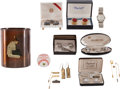 Autographs:Others, Stan Musial Jewelry Collection with Cardinals PresentationalWristwatch....