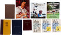 Baseball Collectibles:Others, Famous Athletes & Authors Signed Books to Stan Musial Lot of 6& More....