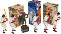 Baseball Collectibles:Others, 1960's Stan Musial Hartland Statues Lot of 5....