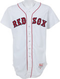 Baseball Collectibles:Uniforms, 1991 Roger Clemens Game Worn Boston Red Sox Jersey. ...