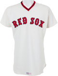 Baseball Collectibles:Uniforms, 1978 Ted Williams Game Worn Boston Red Sox Coach's/Old Timers Day Jersey. ...