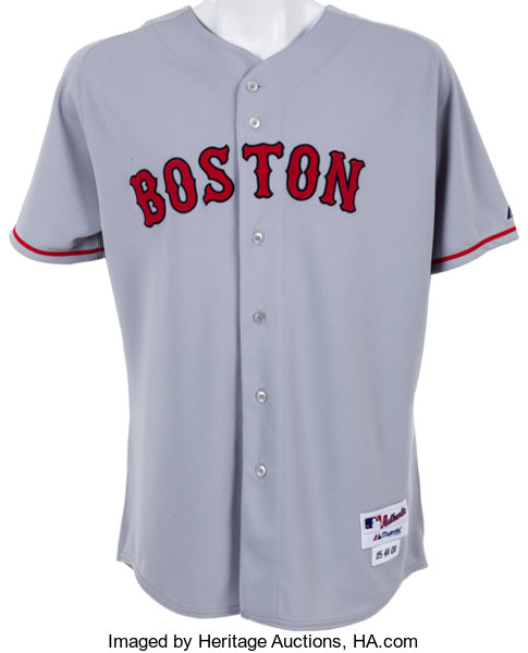 ca294281e 2008 Mike Lowell Game Worn Boston Red Sox Jersey. ... Baseball