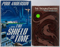 Books:Signed Editions, Poul Anderson. SIGNED. Group of Two. The Shield of Time. New York: TOR, 1990. First edition, first printing. Signe... (Total: 2 Items)