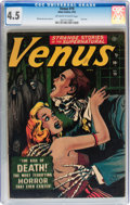 Golden Age (1938-1955):Horror, Venus #19 (Atlas, 1952) CGC VG+ 4.5 Off-white to white pages....