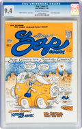 Silver Age (1956-1969):Alternative/Underground, Zap Comix #1 First Printing - Plymell Edition (Apex Novelties, 1967) CGC NM 9.4 Off-white to white pages....