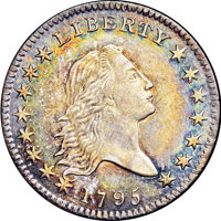1795 50C Two Leaves MS62 NGC. O-119, R.4....(PCGS# 6052)