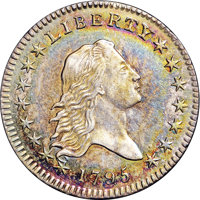 1795 50C Two Leaves MS62 NGC. O-105, High R.3....(PCGS# 6052)