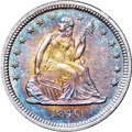 Seated Quarters, 1840 25C MS66 ★ NGC....
