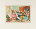 Books:Prints & Leaves, Thomas Rowlandson. A Doleful Disaster. London: Tegg, [n.d.,ca. 1811]. Approximately 9.75 x 13 inches. Matted. S...