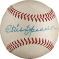 Autographs:Baseballs, 1950's Stan Musial, Tris Speaker & Paul Waner Signed Baseballfrom The Stan Musial Collection....
