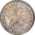 Early Half Dollars, 1806 50C Pointed 6, Stem MS63 NGC. O-114a, R.4....