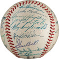 Autographs:Baseballs, 1953 National League All-Star Team Signed Baseball from The Stan Musial Collection....