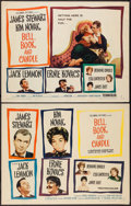 "Movie Posters:Romance, Bell, Book and Candle (Columbia, 1958). Half Sheets (2) (22"" X 28"") A and B Styles. Romance.. ... (Total: 2 Items)"