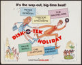"Movie Posters:Rock and Roll, Disk-O-Tek Holiday (Allied Artists, 1964). Half Sheet (22"" X 28"").Rock and Roll.. ..."