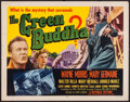 "Movie Posters:Crime, The Green Buddha (Republic, 1955). Half Sheet (22"" X 28""). Crime.. ..."