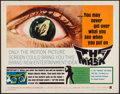 """Movie Posters:Horror, The Mask (Warner Brothers, 1961). Half Sheet (22"""" X 28""""). Horror.. ..."""