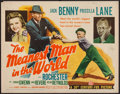 """Movie Posters:Comedy, The Meanest Man in the World (20th Century Fox, 1943). Half Sheet (22"""" X 28""""). Comedy.. ..."""