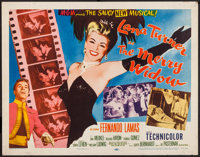 """The Merry Widow (MGM, 1952). Half Sheet (22"""" X 28"""") Style A. Musical"""