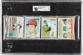 Baseball Cards:Unopened Packs/Display Boxes, 1970 Topps Baseball Unopened Rack Pack GAI NM 7 - Pete Rose onFront....