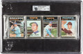Baseball Cards:Unopened Packs/Display Boxes, 1971 Topps Baseball Unopened Rack Pack GAI NM 7 With Tom Seaver onFront. ...