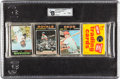 Baseball Cards:Unopened Packs/Display Boxes, 1971 Topps Baseball 1st Series Unopened Rack Pack - Pete Rose on Front....