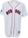 Baseball Collectibles:Uniforms, 2004 Curt Schilling Game Worn Boston Red Sox World Series Jersey. ...
