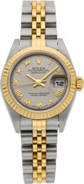 Timepieces:Wristwatch, Rolex Ref. 79173 Lady's Two Tone Oyster Perpetual Datejust, circa1999. ...