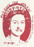 Prints:Contemporary, JAMIE REID (British, b. 1947). God Save the Queen (threeworks), 1997. Silkscreen. Each: 40 x 29 inches (101.6 x 73.7cm... (Total: 3 Items)
