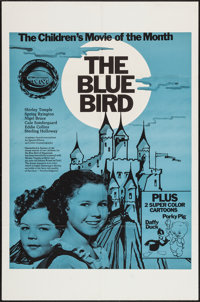 "The Blue Bird and Others Lot (Children's Movie of the Month, R-1960s). One Sheets (2) (27"" X 41""), and (1) Can..."