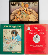 [Jessie Willlcox Smith]. Lot of Three Bibliographies. Various places, dates. Mainly