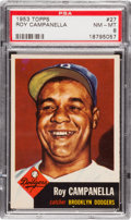 Baseball Cards:Singles (1950-1959), 1953 Topps Roy Campanella #27 PSA NM-MT 8....