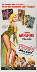 "Movie Posters:Sexploitation, Playgirl After Dark (Topaz, 1962). Three Sheet (41"" X 79"").Sexploitation.. ..."