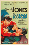 "Movie Posters:Western, The Texas Ranger (Columbia, R-1934). One Sheet (27"" X 41"").. ..."