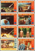 "Movie Posters:Science Fiction, This Island Earth (Universal International, 1955). Lobby Card Setof 8 (11"" X 14"").. ... (Total: 8 Items)"