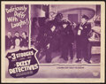 "Movie Posters:Comedy, Dizzy Detectives (Columbia, 1943). Lobby Card (11"" X 14"").. ..."