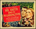 "Movie Posters:Drama, Mr. Smith Goes to Washington (Columbia, 1939). Title Lobby Card(11"" X 14"").. ..."