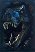 "Movie Posters:Horror, Jurassic Park II: The Lost World (Universal, 1997). Lenticular OneSheet Prototype (27"" X 40"").. ..."