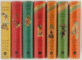 Books:Children's Books, [Louis Rhead and Frank Schoonover, illustrators]. Lot of Seven Books. Blue Ribbon Books, various dates. Publisher's bindings... (Total: 7 Items)