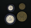 Expositions and Fairs, Two 1904 St. Louis World's Fair Paris Mint Medals.... (Total: 2medals)
