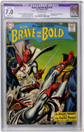 Silver Age (1956-1969):Adventure, The Brave and the Bold #18 (DC, 1958) CGC Apparent FN/VF 7.0 Slight (P) Off-white pages....