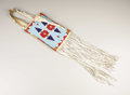 American Indian Art:Beadwork, A YAKIMA BEADED CLOTH MIRROR BAG. c. 1915. ... (Total: 2 Items)