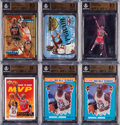 Basketball Cards:Lots, 1990 - 1997 Michael Jordan BGS Gem Mint 9.5 or Pristine 10Collection (6). ...
